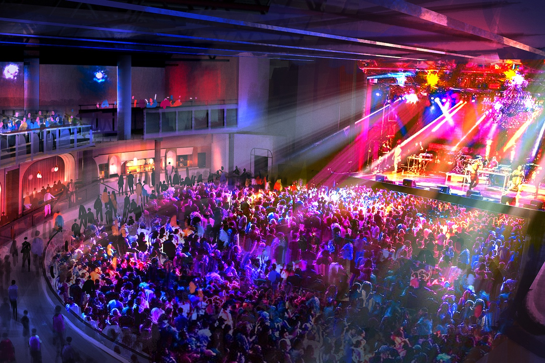drake concert venue