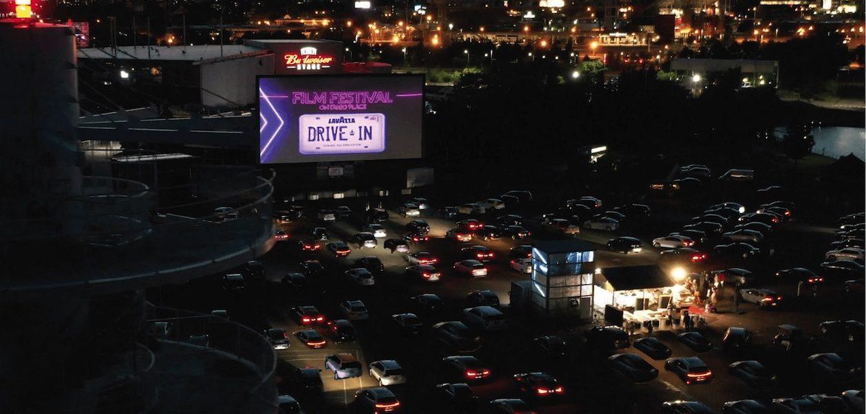 Lavazza drive-in international film festival