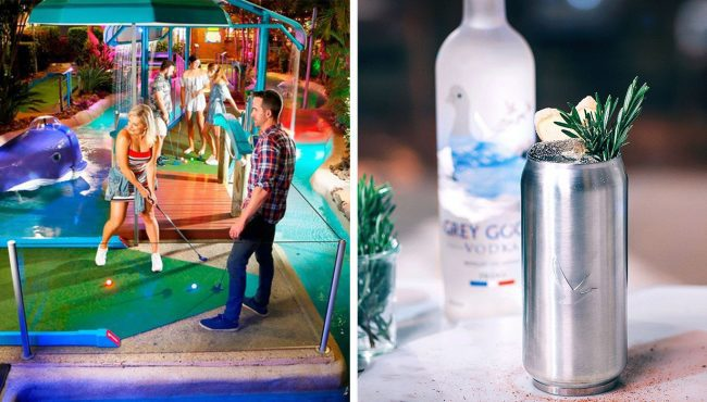 smooth putt mini-golf boozy adult