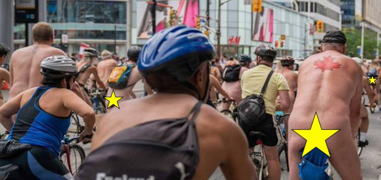 world naked bike ride vancouver toronto