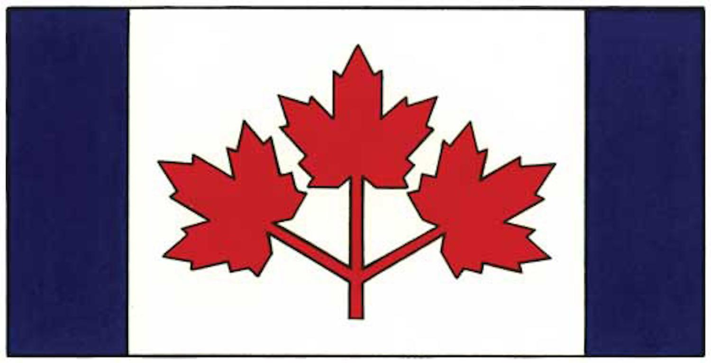 canada flag pearson