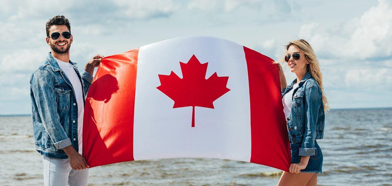 canada flag history and designs