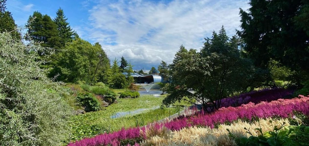 vandusen garden relaxing places vancouver