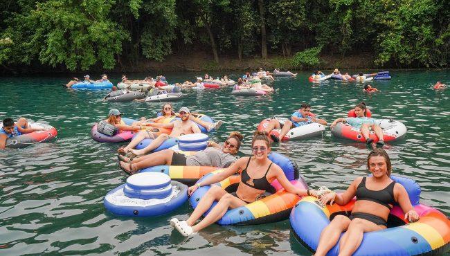snoqualmie river float
