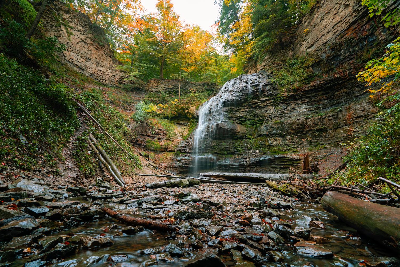 waterfalls near toronto tiffany falls