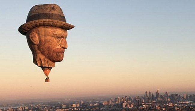 van gogh hot air balloon toronto