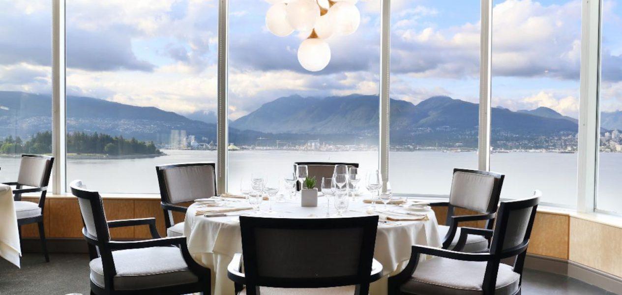 five sails fine dining canada