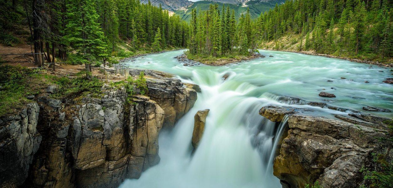 waterfalls alberta
