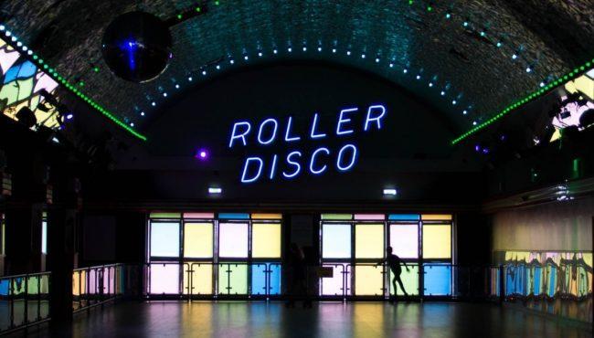 popup roller disco