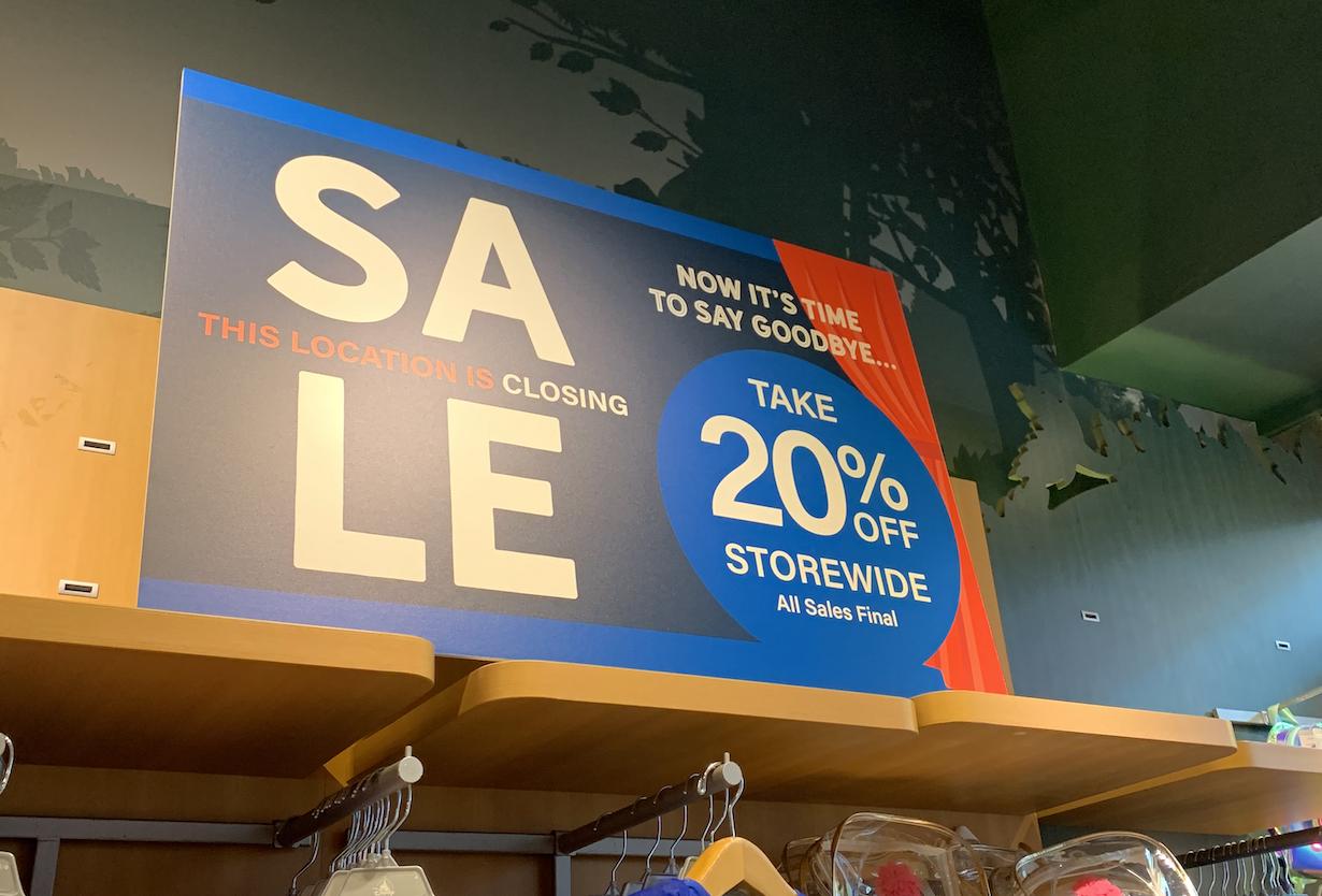 disney stores closing canada