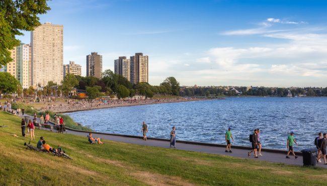 vancouver beach summer