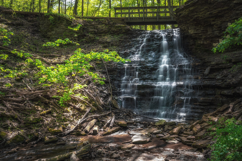 waterfalls near toronto canterbury falls
