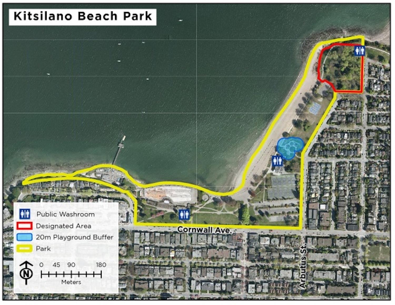 kitsilano beach park public drinking pilot