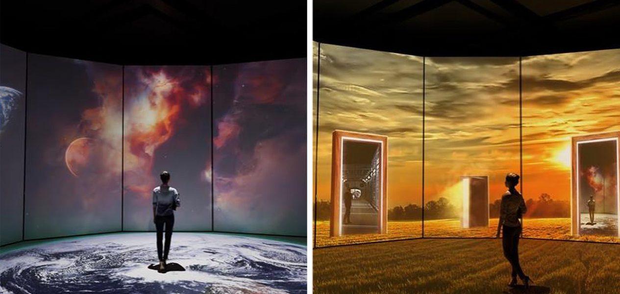 permanent digital immersion gallery calgary telus spark