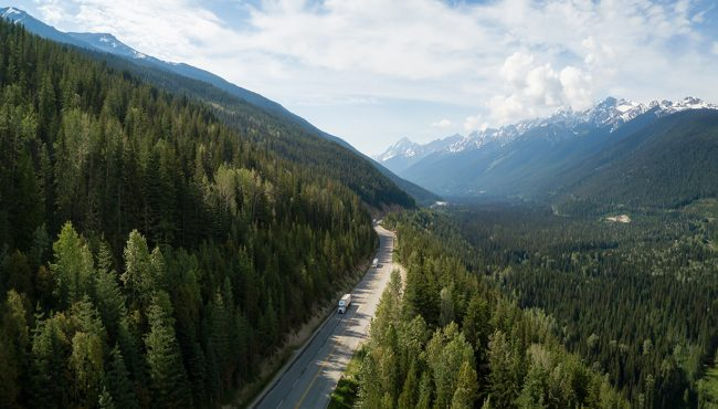 highway 1 dangerous roads world canada