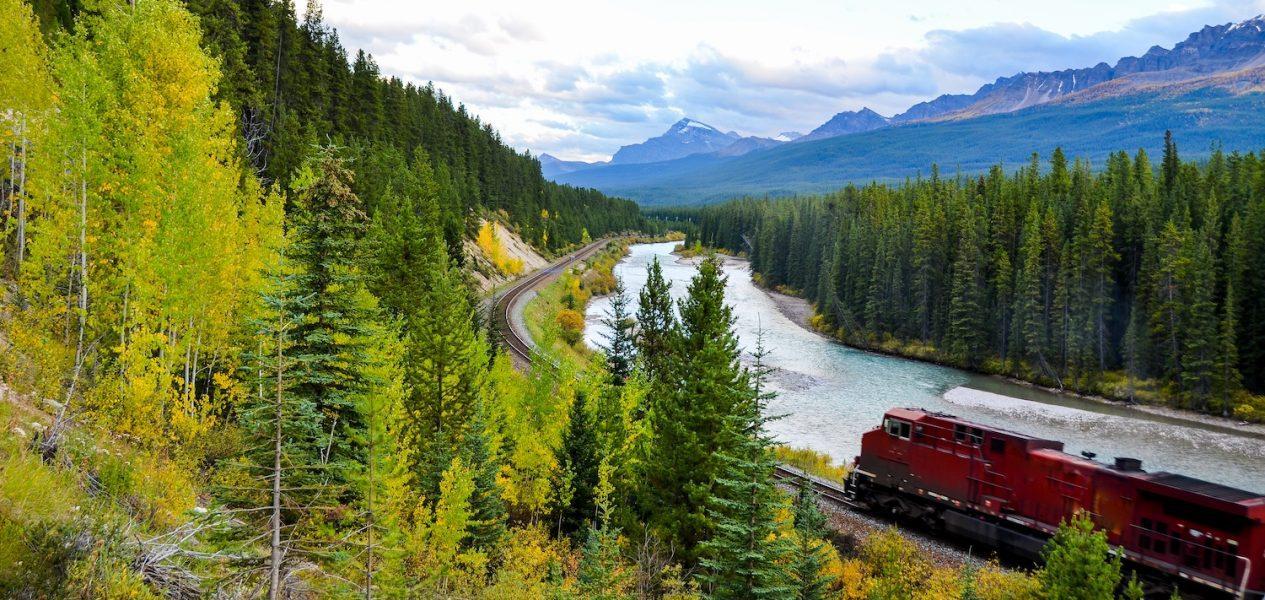 calgary-banff rail