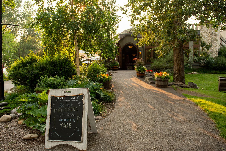 river cafe calgary summer