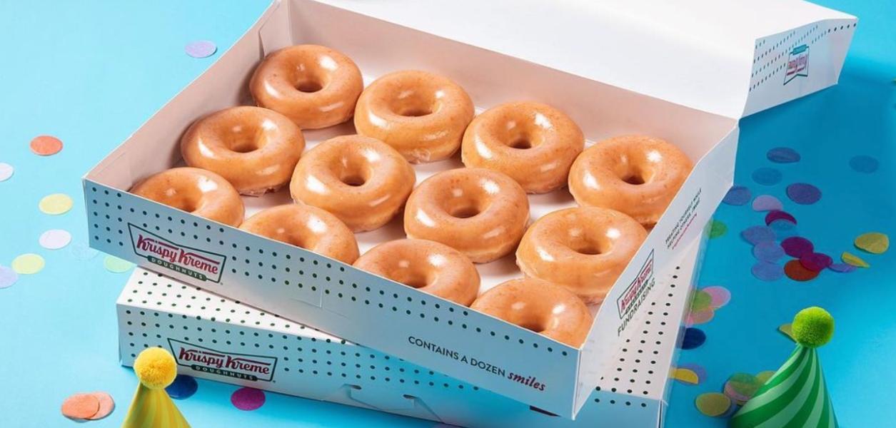 free krispy kreme donut