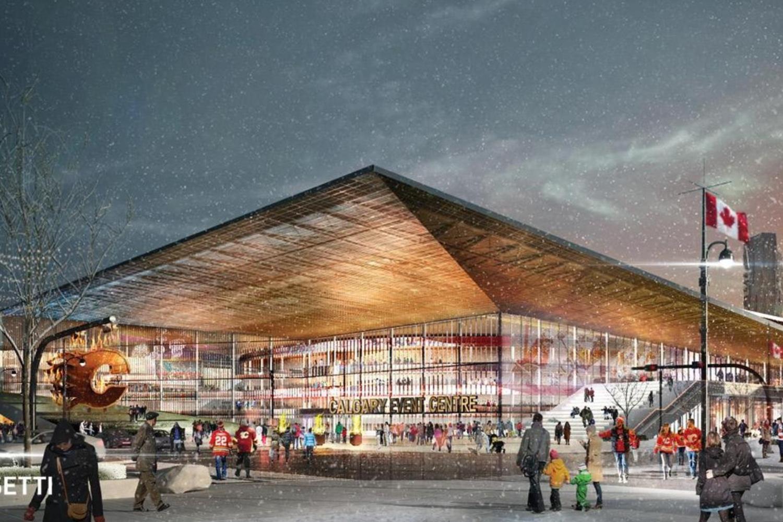 Calgary event centre