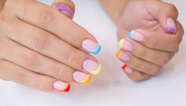 french manicure tiktok