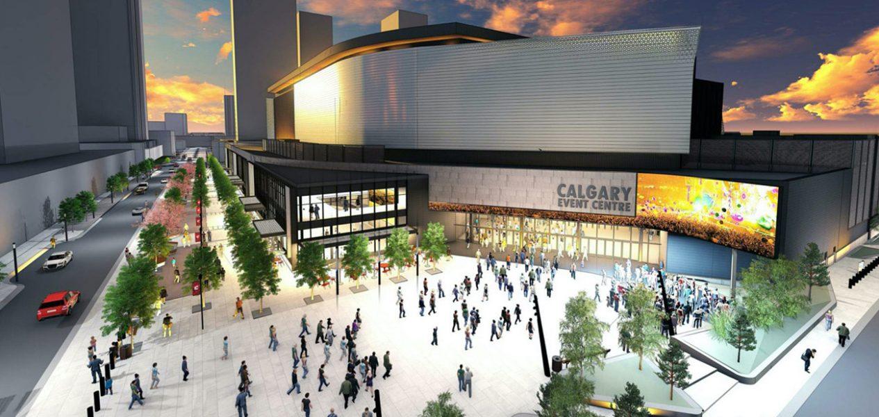Calgary Event Centre arena