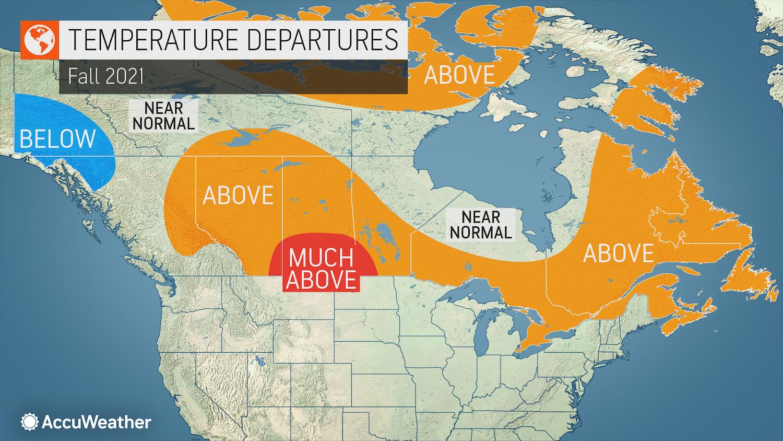 fall forecast canada