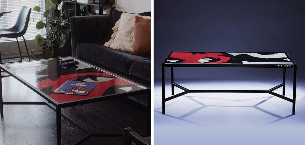raptors coffee table