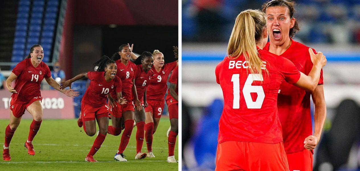 good news canada women's soccer team gold final