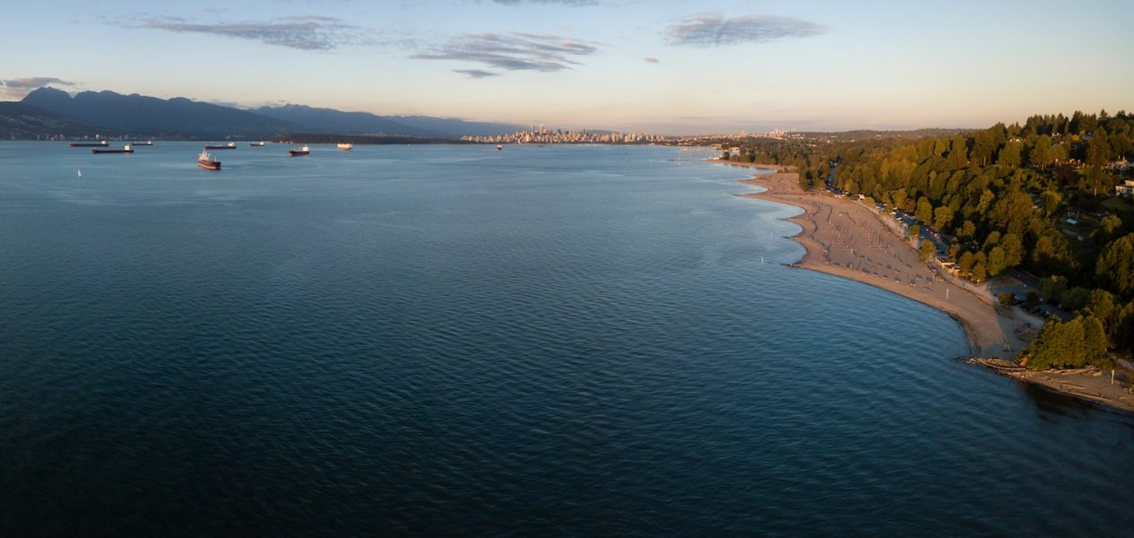 vancouver beach august