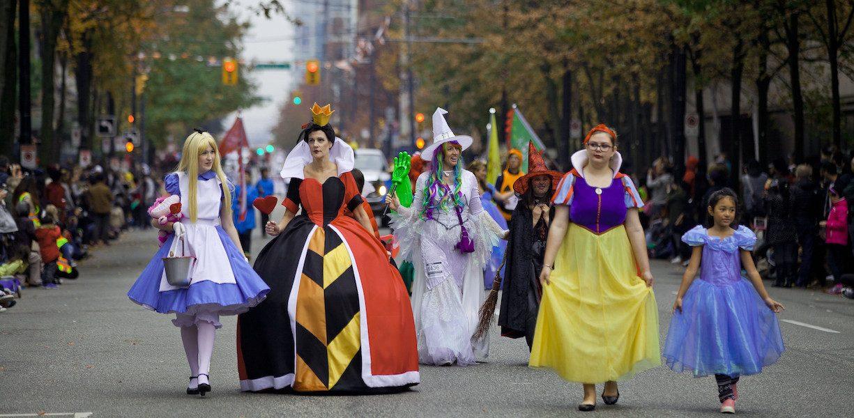 halloween parades vancouver