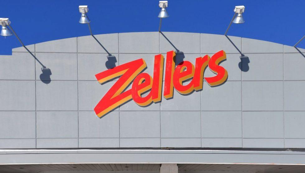 zellers pop up store