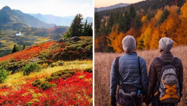 autumn hikes near seattle