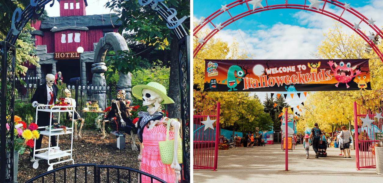 calaway park halloweekends