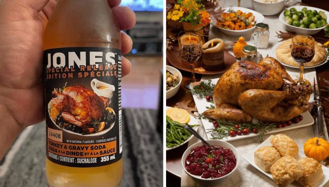 Turkey gravy soda