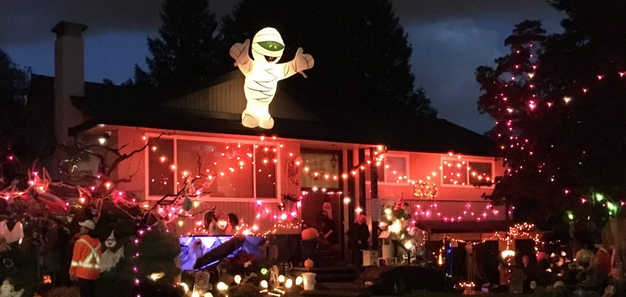 coquitlan halloween house