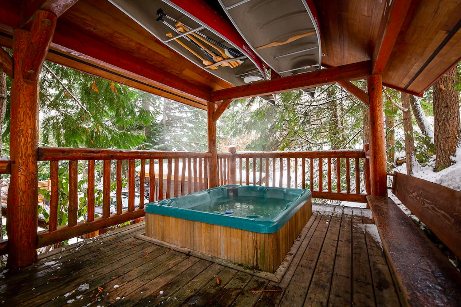 sitka lodge airbnbs bc fall