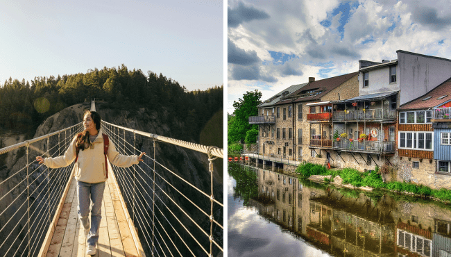 best small towns canada
