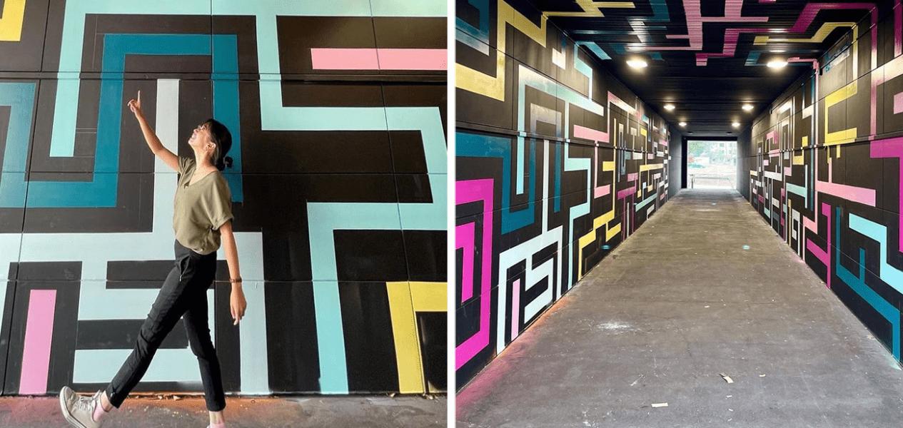 art tunnel edmonton