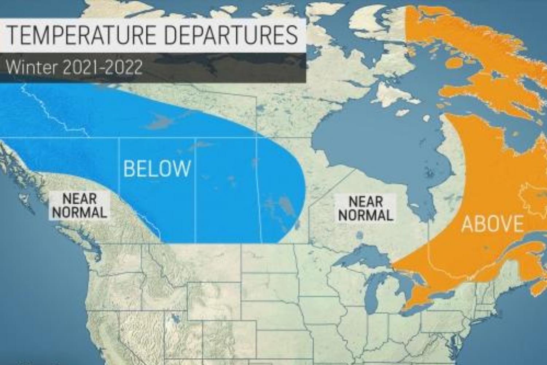 winter forecast canada