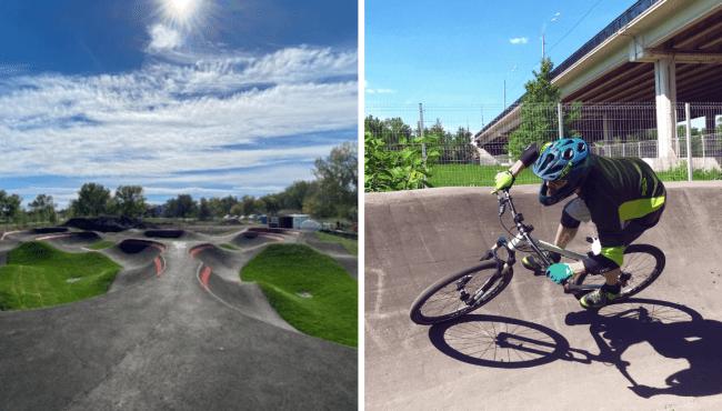 Inglewood bicycle pump track