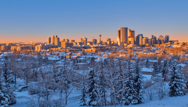 Bundle up! There's snow in Calgary's forecast for this week