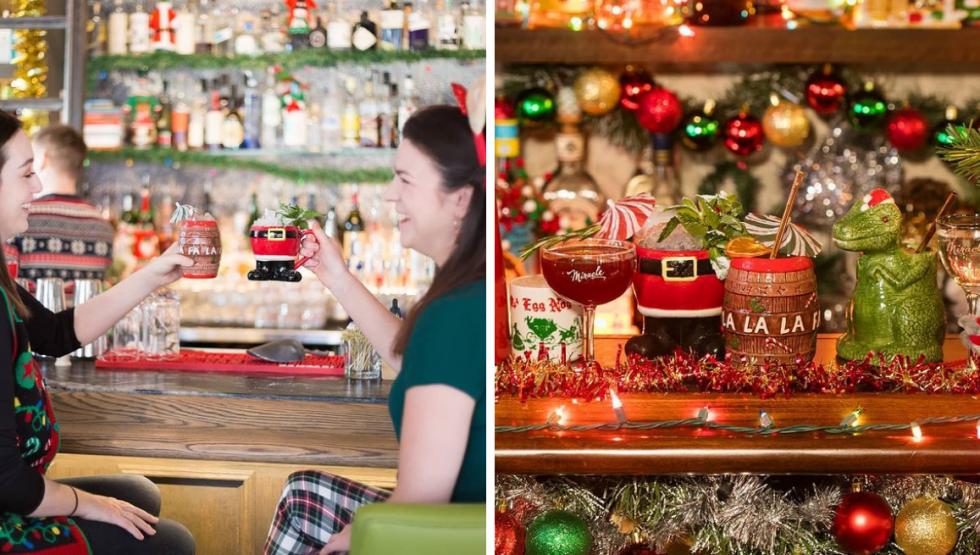 christmas bar popup calgary