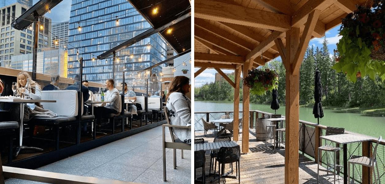 best restaurants outdoor canada