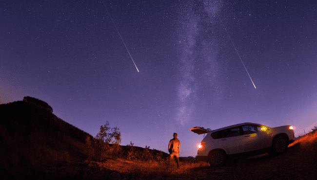 Here's when & where to watch this October's Orionids Meteor Shower