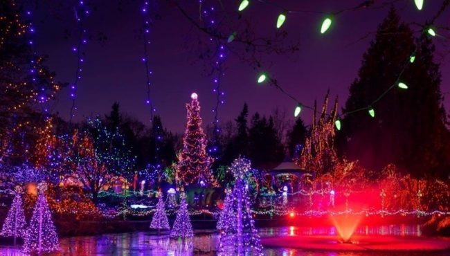 festival of lights vancouver