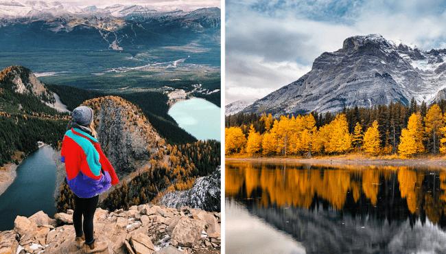 alberta fall hikes