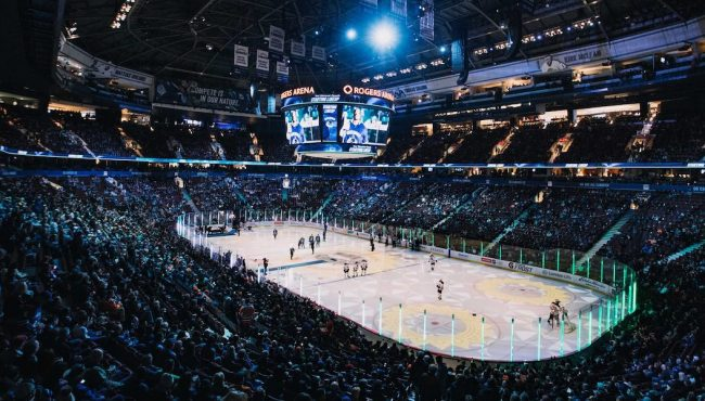 rogers arena bc capacity limit